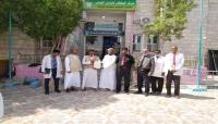 سلطنة عمان تقدم شحنة أدوية ومستلزمات طبية لمديرية شحن بالمهرة