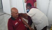 تدشين حملة التطعيم بلقاح جونسون ضد كورونا في المهرة